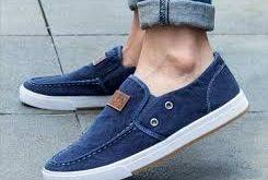 خرید پستی کفش مردانه کتانی