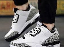 قیمت انواع کفش مردانه کتانی