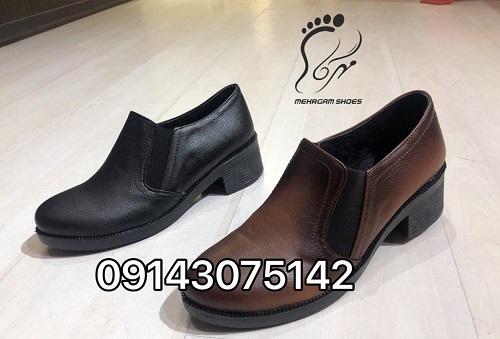 فروش عمده کفش مردانه چرمی آفاق