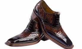 کفش مردانه ورنی
