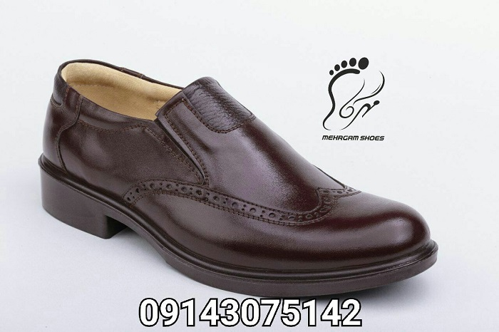 مدل کفش مردانه کارمندی چرم