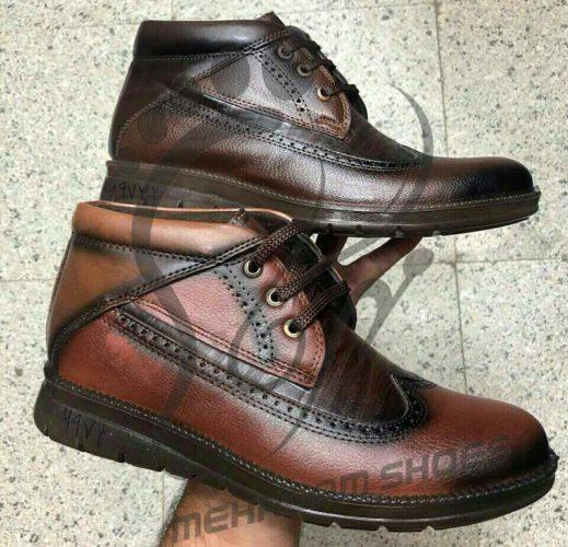 کفش مردانه زمستانی چرم