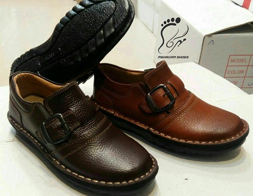 انواع کفش چرم تبریز مدل مردانه