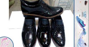 خرید عمده کفش چرم مردانه جدید