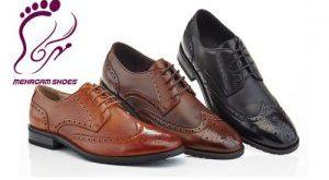 کفش چرم مردانه عید 98