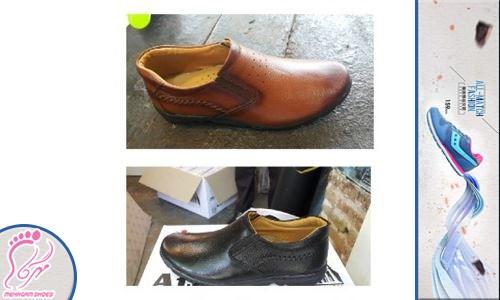 کفش مردانه چرم عمده