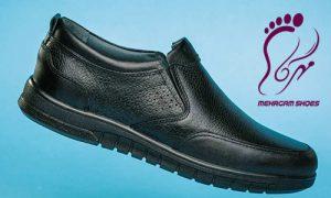 خرید عمده کفش مردانه چرم سایز بزرگ
