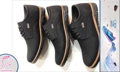 کفش مردانه پرسنلی با قیمت تولید