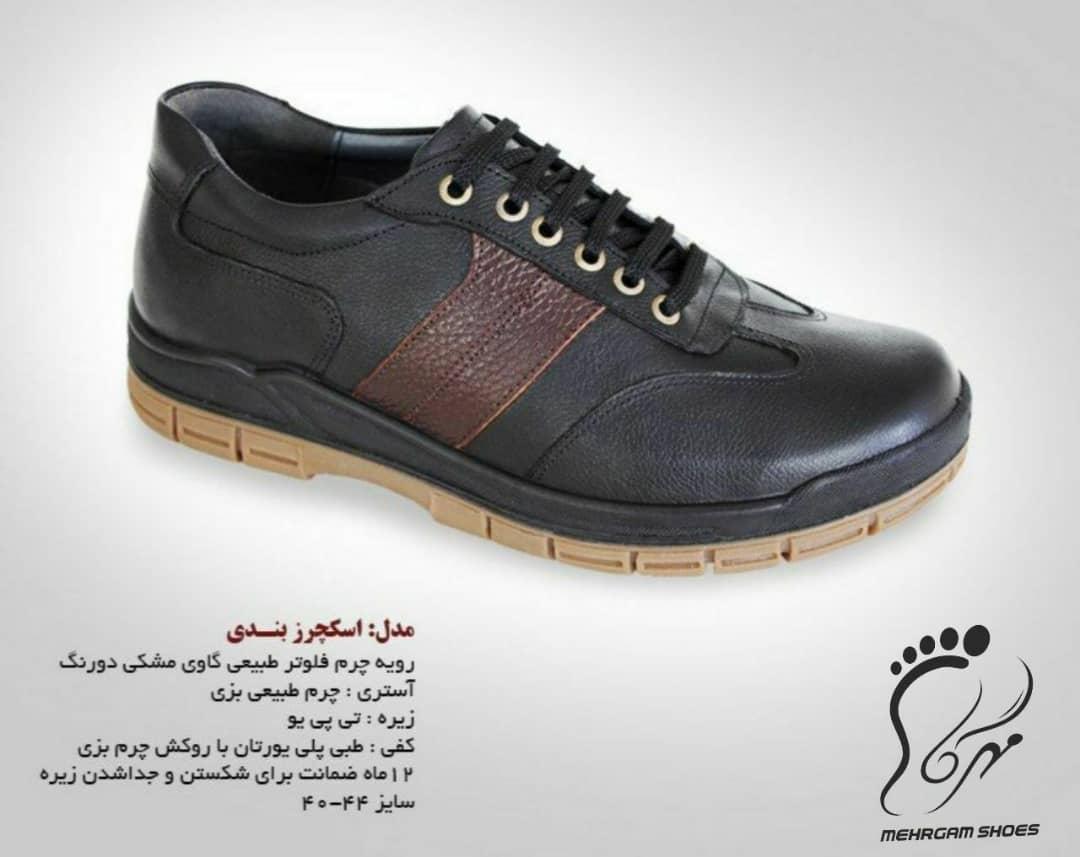 انواع کفش مردانه چرم جدید