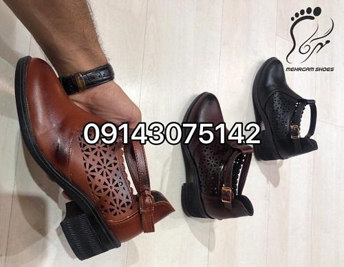 فروش کفش عمده زنانه چرم