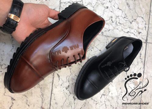 کفش چرم تبریز مدل مردانه رسمی