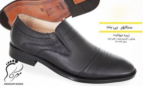 تولیدی کفش چرم مجلسی مردانه در تبریز