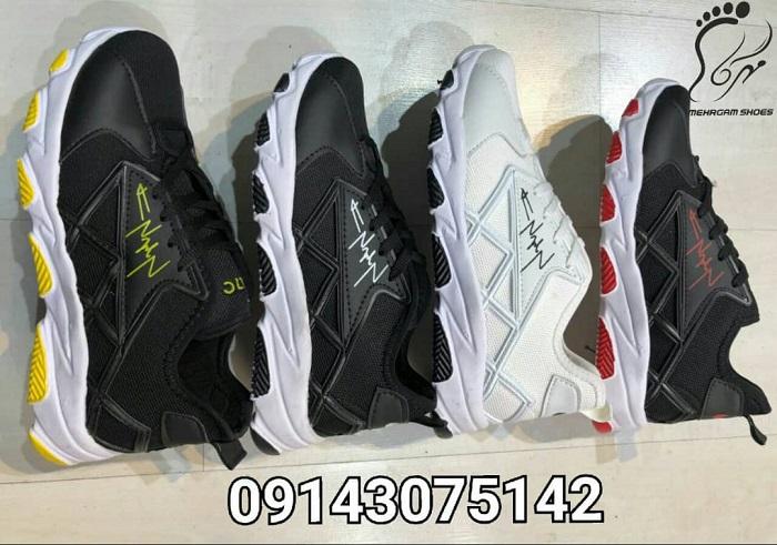 کفش اسپرت مردانه سایز بزرگ