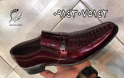 سفارش تولید کفش مجلسی مردانه