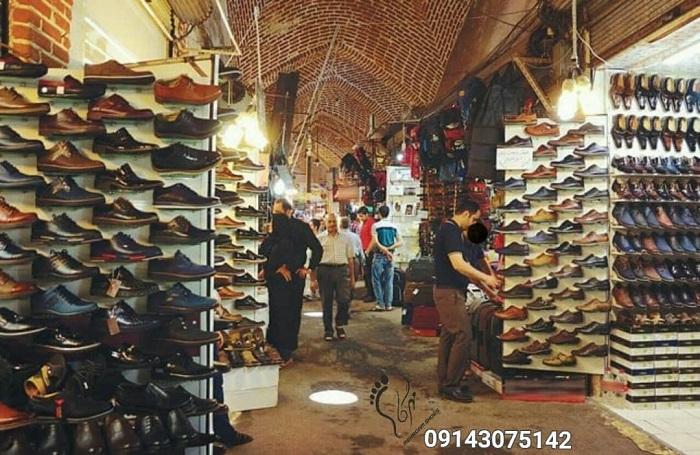 بازار کفش عمده مردانه تهران