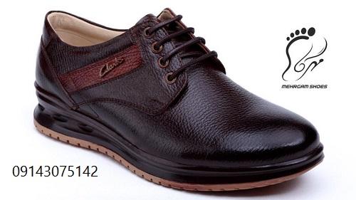 کفش چرم اصل مردانه